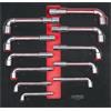 KS-Tools 712.7011 SCS Pipe head wrench set, 11 pcs