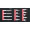 KS-Tools 713.0013 SCS 1/2`` Bit socket set, 13 pcs