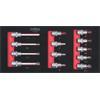 KS-Tools 713.2013 SCS 1/2`` Bit socket set, 13 pcs