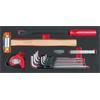 KS-Tools 713.2014 SCS Universal tool set, 14 pcs,
