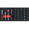 KS-Tools 713.4037 SCS 1/4'' Steckschlüssel-Satz, 3