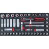 KS-Tools 713.4046 SCS Socket set, 3/8