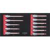 KS-Tools 713.9011 SCS 1/2`` Bit socket set, 11 pcs