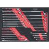 KS-Tools 781.0031 SCS CHROMEplus wrench set inch,