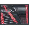 KS-Tools 781.0033 SCS CHROMEplus wrench set, 33 pc