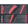 KS-Tools 781.0036 SCS CHROMEplus wrench set, 37 pc