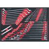 KS-Tools 781.0041 SCS CHROMEplus wrench set, 41 pc