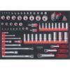 KS-Tools 781.0080 SCS CHROMEplus 1/4