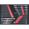 KS-Tools 781.2030 SCS CHROMEplus wrench set, 30 pc