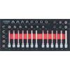 KS-Tools 783.0039 SCS CHROMEplus 3/8