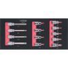 KS-Tools 783.2013 SCS CHROMEplus 1/2'' Bit-Stecknu