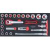 KS-Tools 783.4024 SCS CHROMEplus Steckschlüssel-Sa