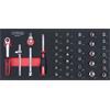 KS-Tools 783.4037 SCS CHROMEplus 1/4'' Steckschlüs