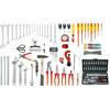 KS-Tools 116.0175 Sanitary tool kit, 129 pcs