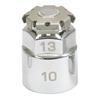 KS-Tools 503.4293 GEARplus bit adaptor, 10mmx13mm