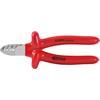 KS-Tools 117.1281 1000V Elektriker-Seitenschneider
