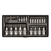Proxxon 23102 TORX socket set (E 4 -20), 24 pieces