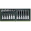 Proxxon 23296 Special set for XZN multi-toothed screws, 18 pieces