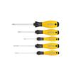 Wiha 27252 Screwdriver set SoftFinish® ESD Slotted, Phillips 5-pcs.