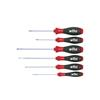 Wiha 07152 Screwdriver set SoftFinish® Slotted, Phillips 6-pcs.