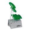 Wiha 01348 L-key with T-handle set Short TORX® in work bench stand, 7-pcs., matt chrome-plated