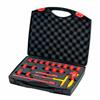 Wiha 43023 Ratchet wrench set insulated 3/8? 20-pcs. in case