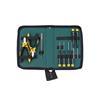Wiha 33505 Tool set ESD Pliers, screwdriver, tweezers, 9-pcs. in bag
