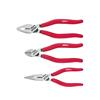Wiha 26850 Pliers set Classic Combination pliers, needle nose pliers, diagonal cutters 3-pcs.