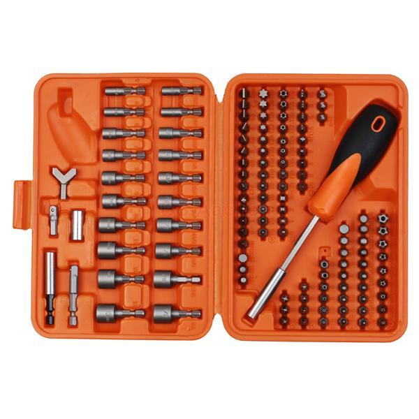 Projahn 3789 Securibit Box, 122 pieces