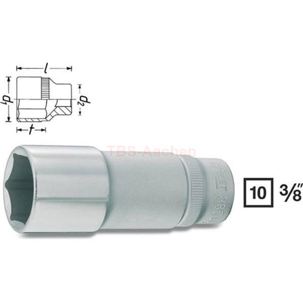 """Steckschlüssel Einsatz SW 19 mm 1//2/"""" Werkzeug Kfz Stecknuss Außen Sechskant Nuss"""