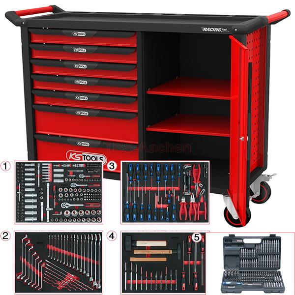 ks tools racingline werkstattwagen xl 515. Black Bedroom Furniture Sets. Home Design Ideas