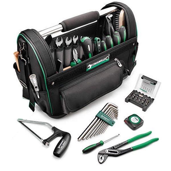 Stahlwille 13219/52 Profi-Werkzeug-Set Werkzeugtasche mit 52 Premium Werkzeugen