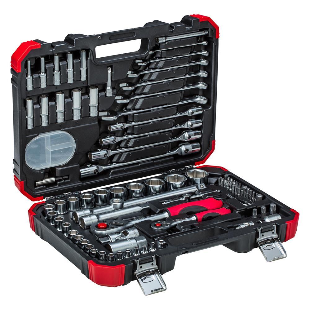 Gedore Red R46003092 1/4+1/2 Socket Set 92-Piece Ratchet