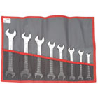 Open end wrench sets