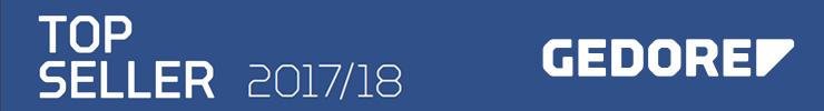 TBS Gedore Topseller 2017 2018