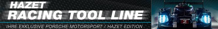 Hazet Porsche Motorsport Werkzeuglinie