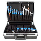 Tool set in case