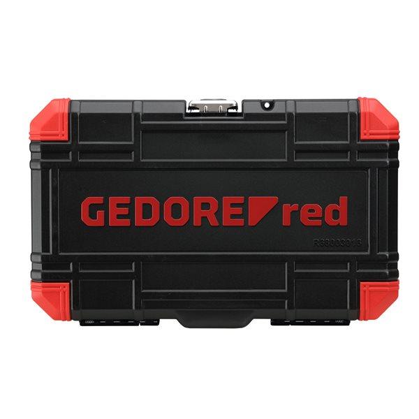 gedore red r68003016 1 2 steckschl ssel satz tx. Black Bedroom Furniture Sets. Home Design Ideas