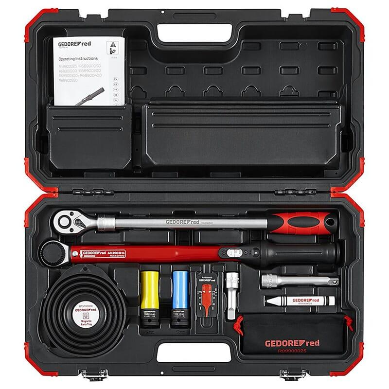 Gedore red R68903011 Rad-Montage-Set 1/2