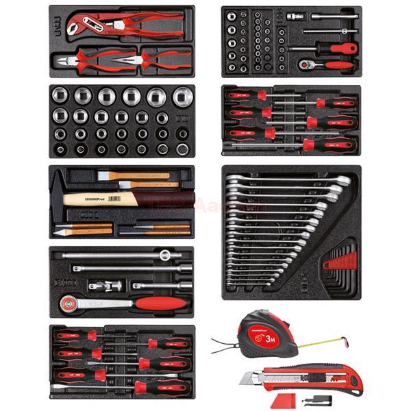 gedore red r21010001 werkzeugsatz in 8 modulen. Black Bedroom Furniture Sets. Home Design Ideas