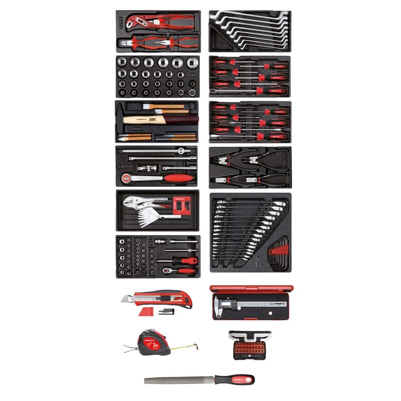 gedore red r21010002 werkzeugsatz in 11 modulen. Black Bedroom Furniture Sets. Home Design Ideas