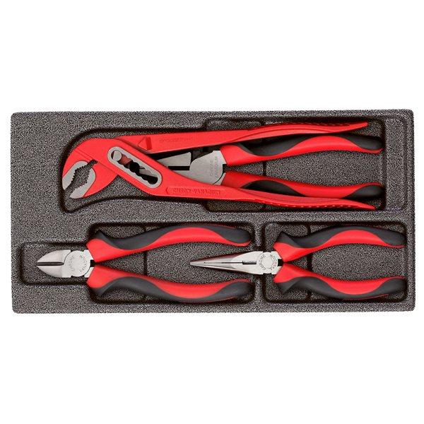gedore red r22150018 zangen satz im 1 3 modul 4tlg. Black Bedroom Furniture Sets. Home Design Ideas