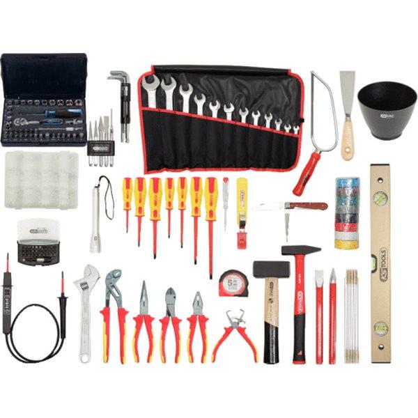 ks tools premiumelektriker werkzeugkoffer. Black Bedroom Furniture Sets. Home Design Ideas