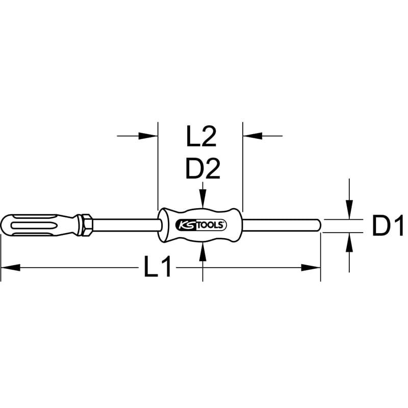 IG M10 KS Tools 660.0501 Gleithammer 170mm Variante1