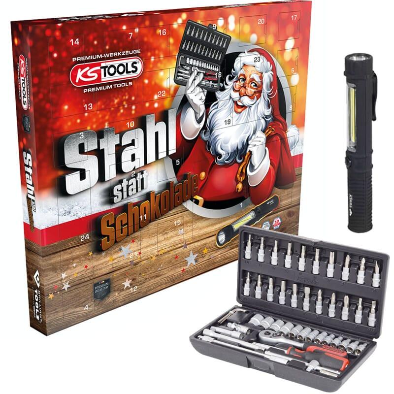 KS-Tools 999.8888 Advent calendar 2021, socket set 48 pieces