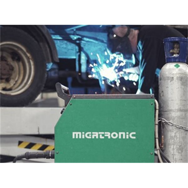 Migatronic 73940091 Vorschubrollen-Kit 0,8 V-Nut