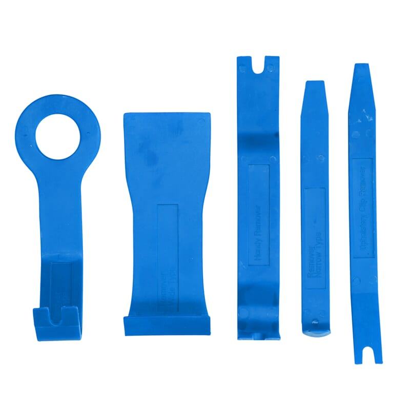Trim removal tool set, 5-pieces